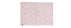 Alfombra algodón 120x160cm rosa ALISHIA