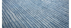 Alfombra azul gris acrílico-algodón 155x230 SNAKE