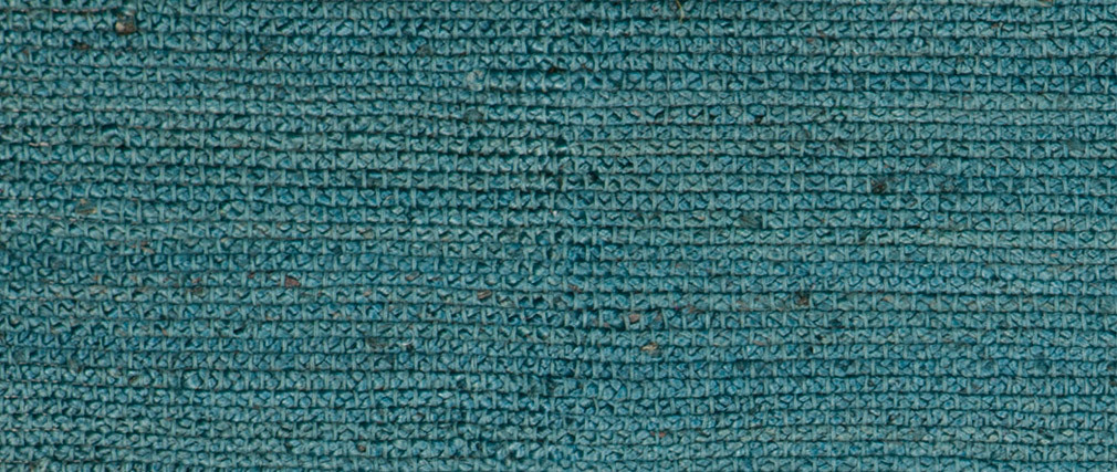 Alfombra azul petróleo yute 200x300cm GUNNY