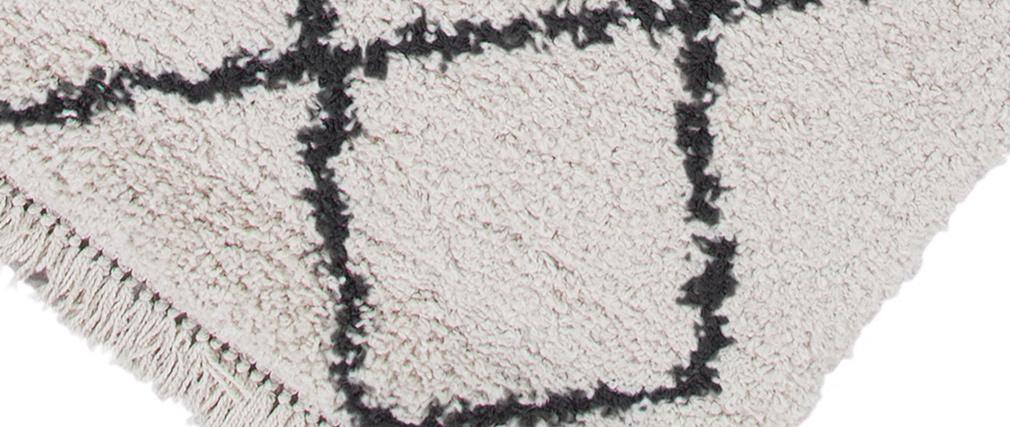 Alfombra bereber crudo 160 x 230 cm ZELIA