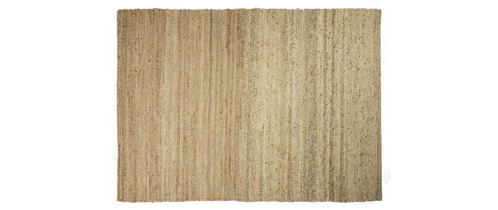 Alfombra color natural yute 140x200cm GUNNY