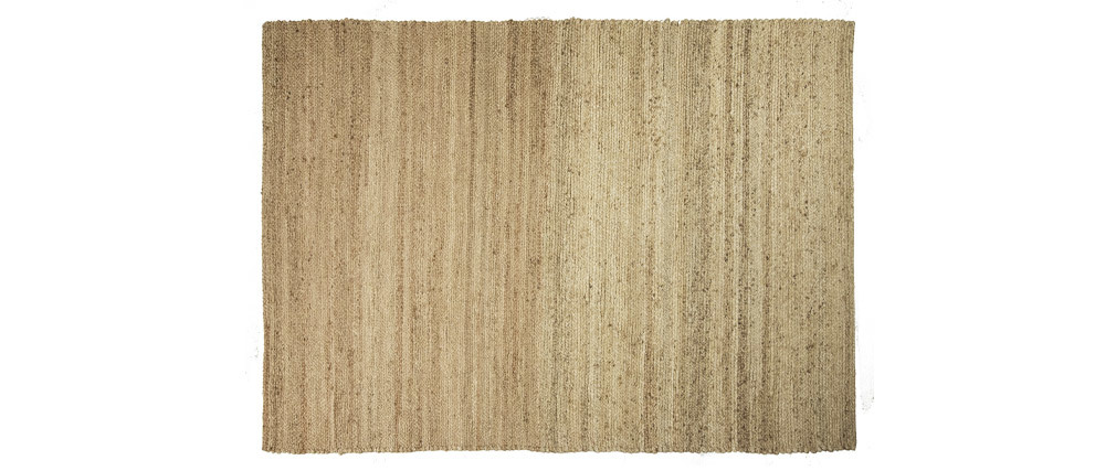 Alfombra color natural yute 170x240cm GUNNY