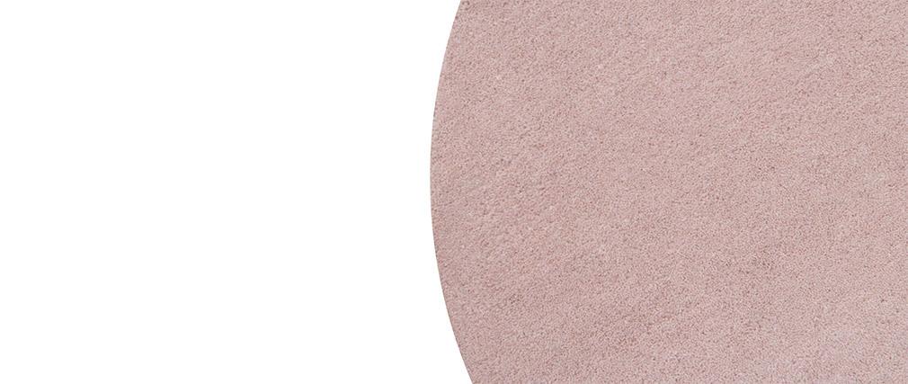 Alfombra doble gris y rosa 140x200cm ECLIPSE