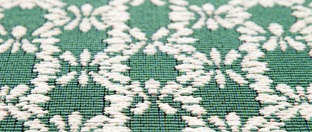 Alfombra esmeralda 120x170cm OASIS