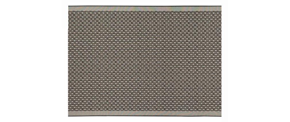 Alfombra gris 120x170cm OASIS