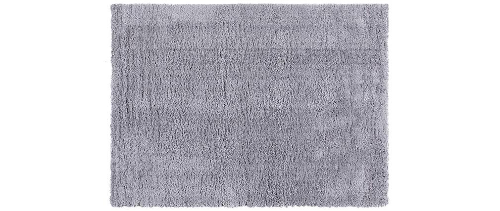Alfombra gris antracita 160x230 cm PLUMA