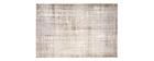 Alfombra gris claro acrílico y algodón 155x230 USED