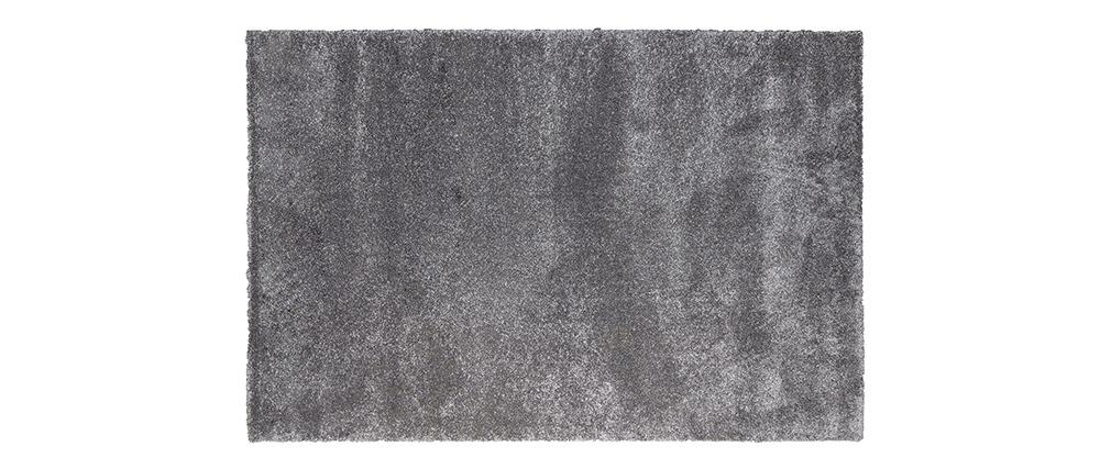 Alfombra gris polipropileno 120x170 CLOUD