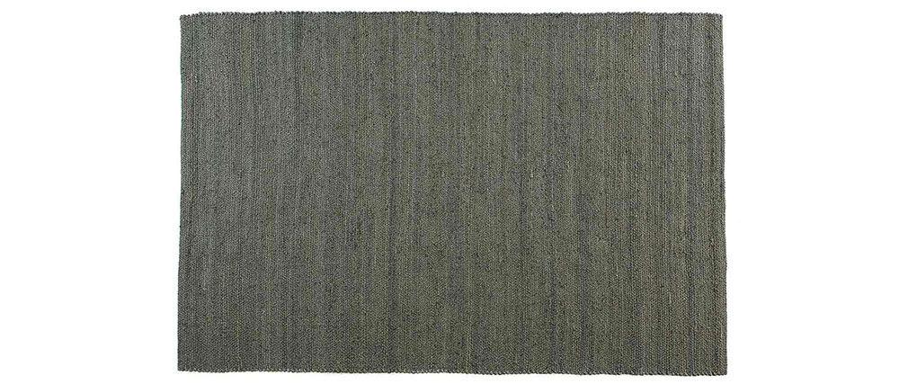 Alfombra gris yute 170x240cm GUNNY