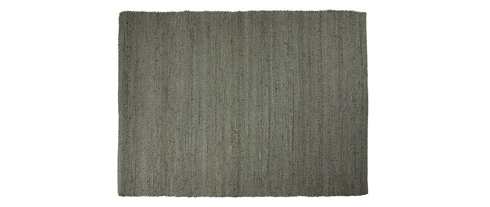 Alfombra gris yute 200x300cm GUNNY