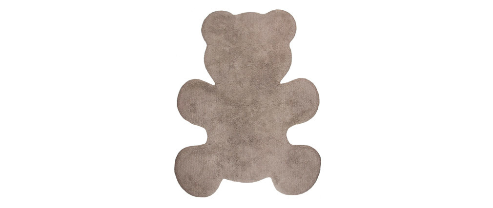 Alfombra infantil en algodón topo 80x100 cm TEDDY