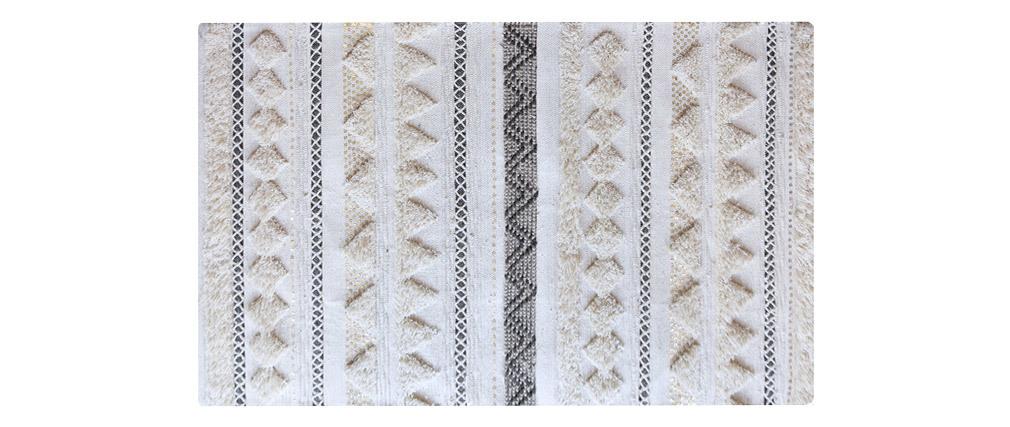 Alfombra lana y lentejuelas 160x230 cm LENITY