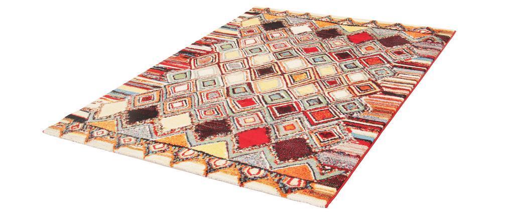 Alfombra motivos multicolor 160 x 230 cm HOLI