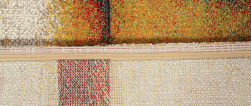 Alfombra multicolor 160 x 230 cm ABSTRAIT