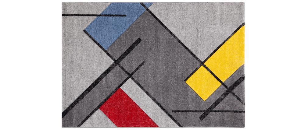 Alfombra multicolor 160 x 230 cm MATISS