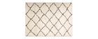 Alfombra polipropileno beige 200 x 290 cm BERBERE