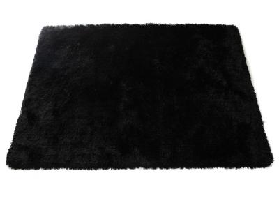 Alfombra shaggy color negro 160x230 cm UGO