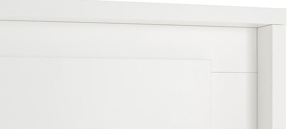 Aparador alto moderno 4 puertas blanco LAND