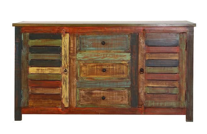 Adesivo De Parede Infantil ~ Aparador diseño madera reciclada Zoom