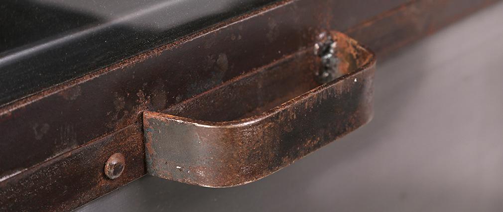 Aparador metal industrial 2 puertas FACTORY