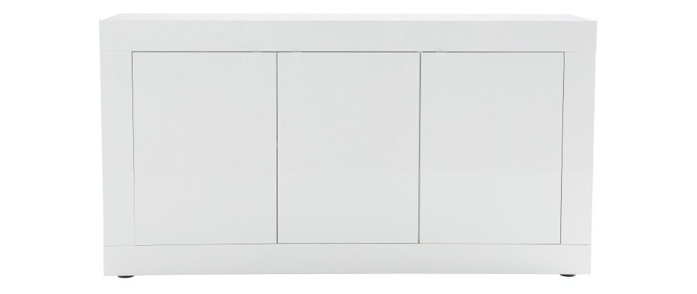 Aparador moderno lacado blanco 160cm LATTE