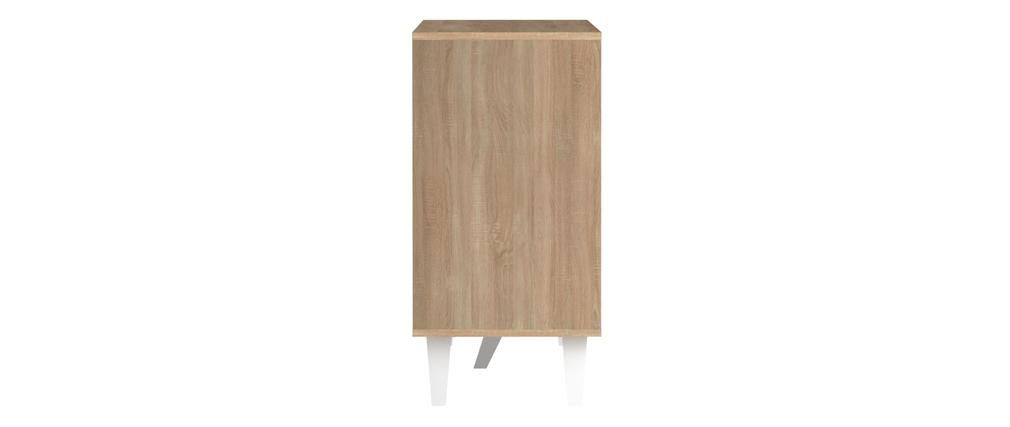 Aparador nórdico madera y blanco ORIGAMI