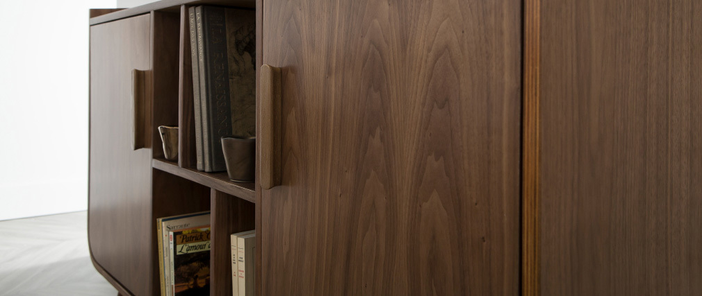 Aparador vintage madera nogal HALLEN