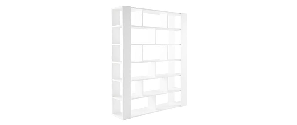 Biblioteca diseño blanca MUSSO