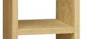 Biblioteca moderna madera clara L120 cm WALANG