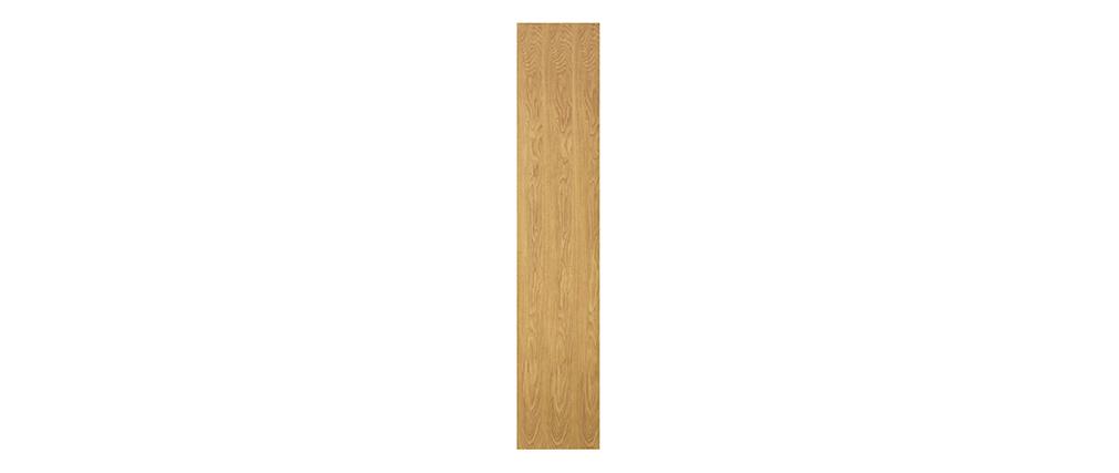 Biblioteca moderna madera clara L60 cm WALANG