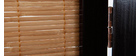 Biombo de 3 partes SUWA de abeto y bambú