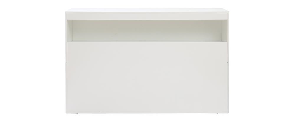 Cabecero con almacenaje blanco 160 cm HYPNOS
