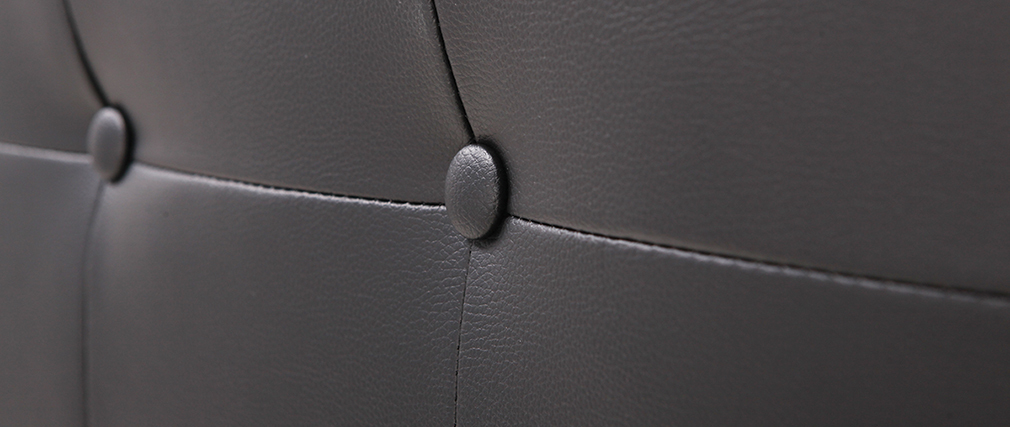 Cabecero diseño negro 170cm LUTECE