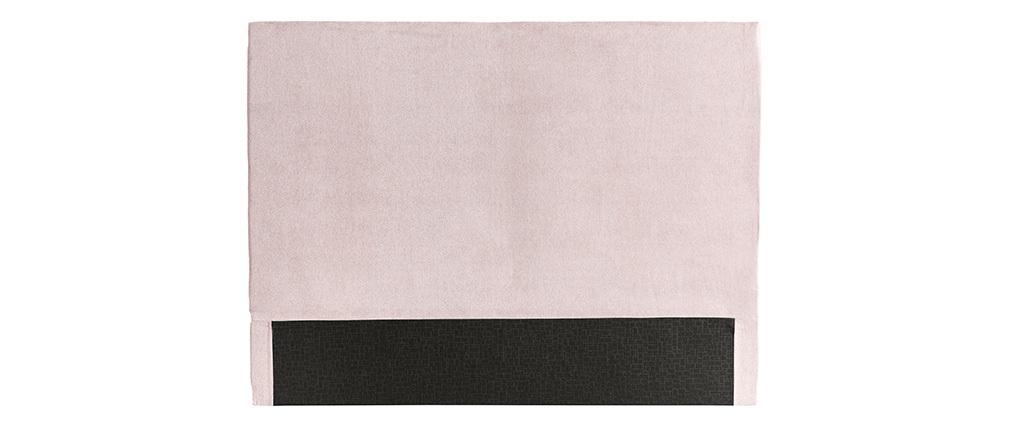 Cabecero en tejido rosa pastel 160 cm ZORYA