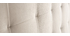 Cabecero en terciopelo topo 160 cm HALCION