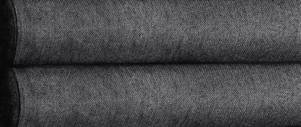 Cabecero moderno en tejido gris oscuro 140 cm HORIZON