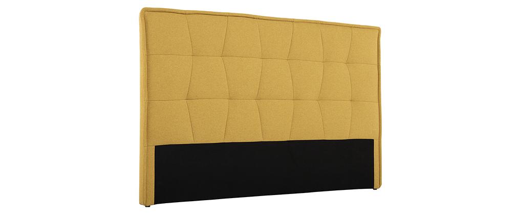 Cabecero tejido amarillo 170 cm SUKA