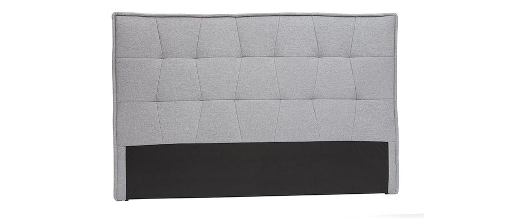 Cabecero tejido gris claro 170 cm SUKA