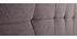Cabecero tejido gris oscuro 150 cm SUKA