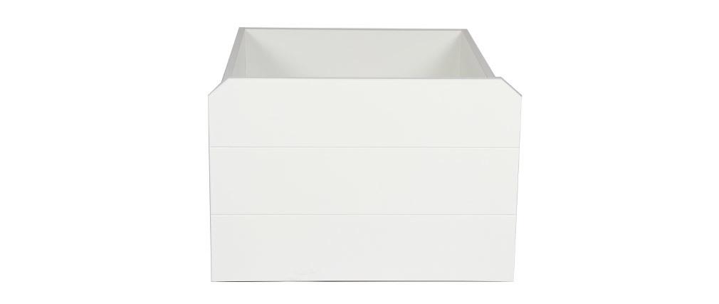 Cajón almacenaje blanco PILOTI