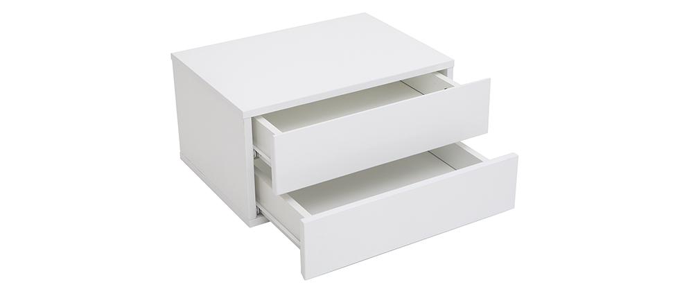 Cajonera diseño blanco 2 cajones MAX