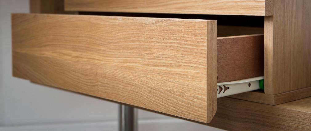 Cajonera diseño madera 2 cajones MAX