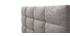 Cama adulto 140x200 cm gris claro EMERY