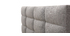Cama adulto 160x200 cm gris claro EMERY