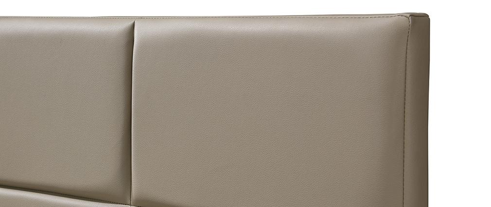 Cama adulto moderna 160 x 200 cm topo SOLAL