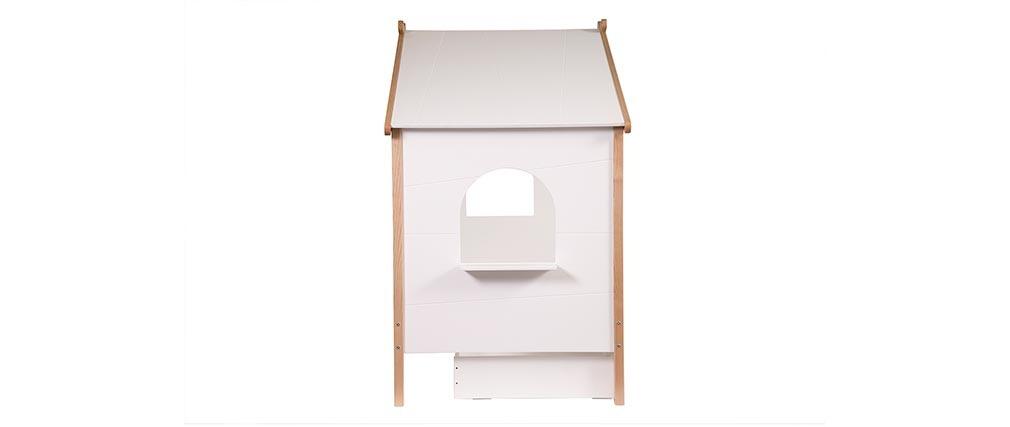 Cama cabaña infantil con cajones diseño BIRDY