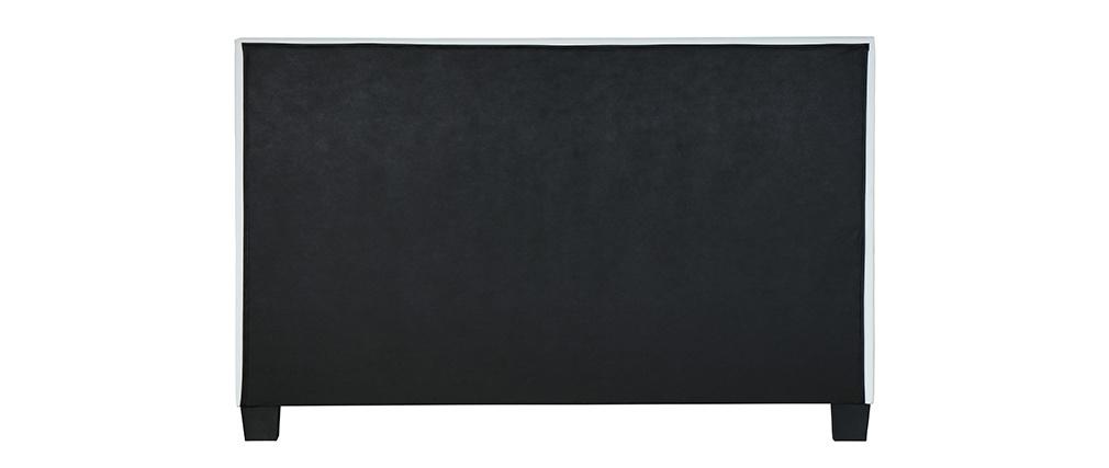 Cama de matrimonio 160x200 cm blanco SOLAL