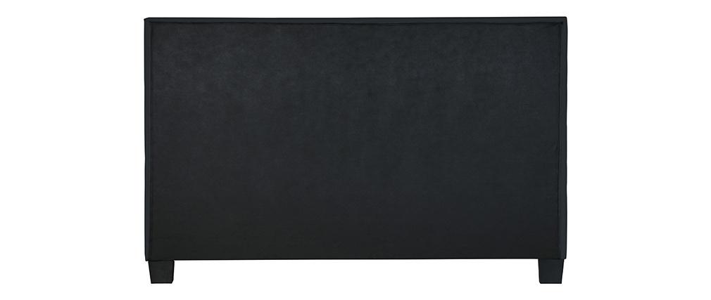Cama de matrimonio 160x200 cm negro SOLAL
