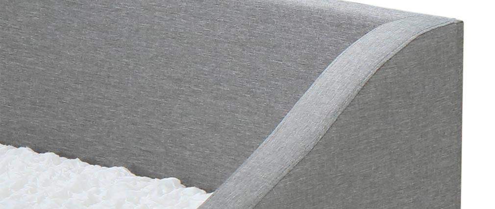 Cama nido 190x90cm gris claro BEKKER