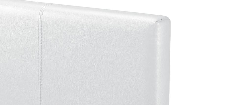 Cama nido 90 x 195 cm blanco MACCO